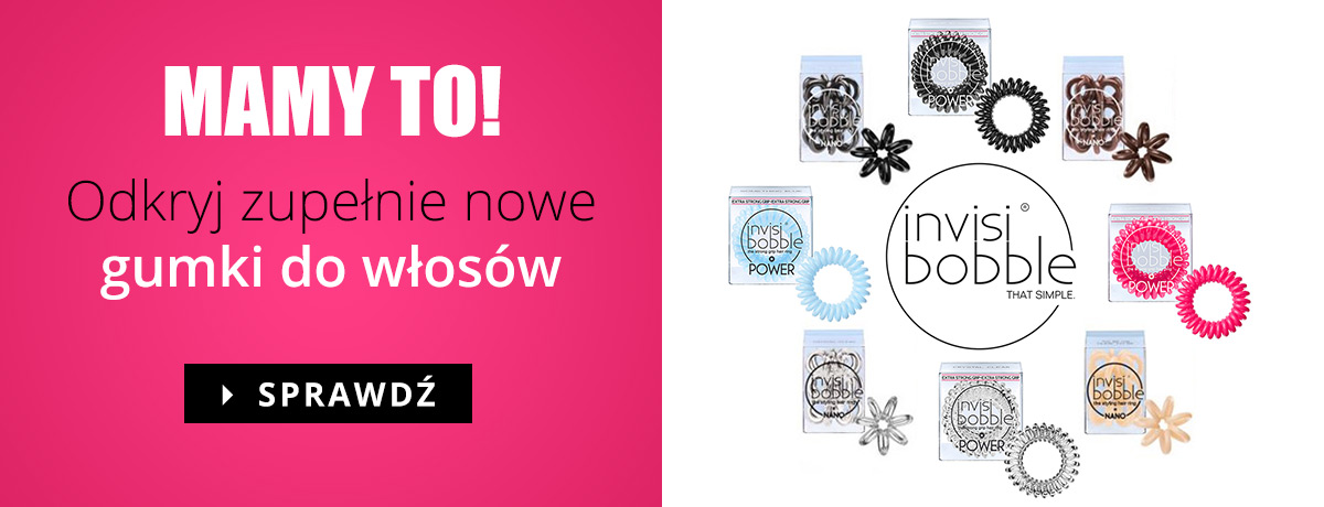 Invisibobble - nowe gumki do w�os�w!