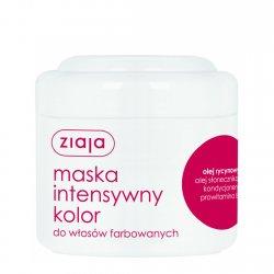 Ziaja, maska do włosów Intensywny Kolor z olejem rycynowym, 200ml