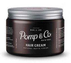 Pomp&Co. Hair Cream, matowa pasta do włosów, 500ml