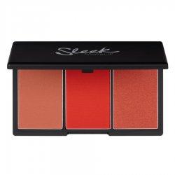 Sleek Makeup, paleta róży do policzków, Flame