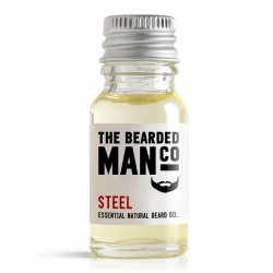 Bearded Man Steel, olejek do brody Stal, 10ml