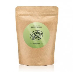 BodyBoom, peeling kawowy Cannabis Oil, 100g