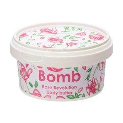 Bomb Cosmetics, masło do ciała z 30% shea, Różana Rewolucja, 200ml