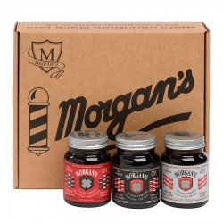 "Morgan's, Pomade Box, zestaw ""Pomady"", 3x100ml"