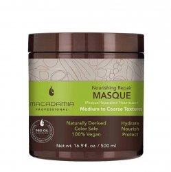 Macadamia Professional Vege, nawilżająca maska do włosów normalnych, 500ml
