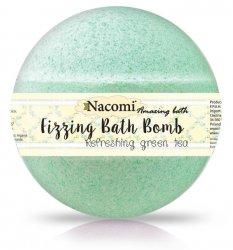 Nacomi, musująca kula do kąpieli - Odświeżająca zielona herbata (2 półkule), 130g