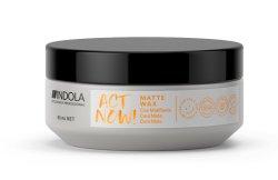 Indola Act Now!, wegański wosk matujący, 85ml