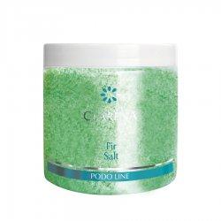 Clarena Podo Line, sól do kąpieli stóp i ciała, zapach jodły, 250g