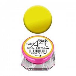 Semilac Semi-Art, żel do zdobień, 007 Yellow, 5ml