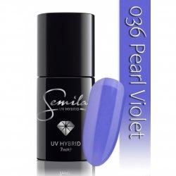 Semilac lakier hybrydowy 036 Pearl Violet, 7ml
