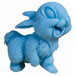 LaQ, mydło glicerynowe, uśmiechnięty królik