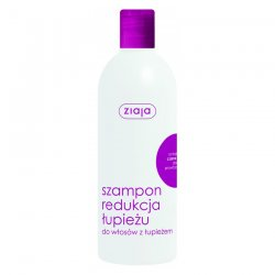 Ziaja, szampon do włosów Redukcja Łupieżu z czarną rzepą, 400ml