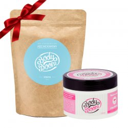 Prezent: BodyBoom peeling kawowy + masło antycellulitowe