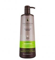 Macadamia Professional Vege, regenerujący szampon do włosów bardzo grubych, 1000ml