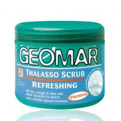Geomar Thalasso Scrub, odświeżający peeling do ciała, 600g