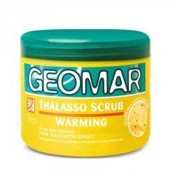 Geomar Thalasso Scrub, bananowy rozgrzewający peeling do ciała, 600g