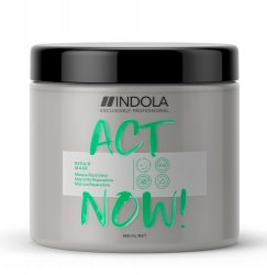 Indola Act Now!, wegańska maska regenerująca, 650ml