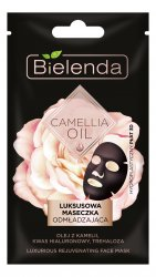 Bielenda Camellia Oil, luksusowa maseczka odmładzająca w płacie