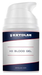 Kryolan HD Bloog Gel, sztuczna krew w żelu, Dark Venous, 50ml