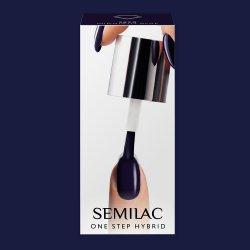 Semilac One Step Hybrid, lakier hybrydowy, 5ml, S890 Midnight Blue