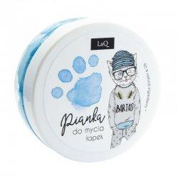 LaQ, pianka do mycia łapek, niebieska, 50ml