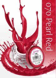 Semilac UV Gel Color 070 Pearl Red, 5ml