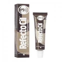 RefectoCil henna brwi i rzęs, kolor 3 naturalny brąz, 15ml