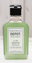 Depot No. 406, transparentny żel do golenia, 100ml