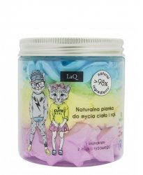 LaQ, 3-kolorowa pianka myjąca dla dzieci, 250ml