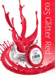 Semilac UV Gel Color 025 Glitter Red, 5ml