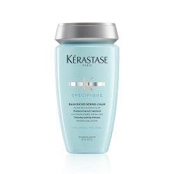 Kerastase Specifique Bain Riche Dermo Calm, szampon, wzbogacona kąpiel kojąca, wrażliwa skóra głowy, 250ml
