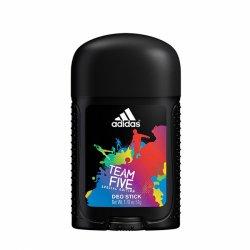 Adidas Team Five, deostick, 53ml (M)