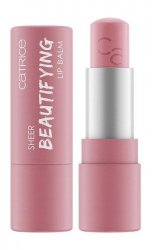 Catrice Sheer Beautifying 010 Flitry Rose, przezroczysty balsam do ust