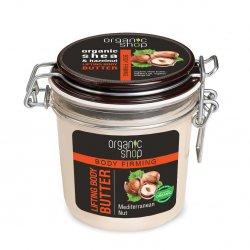 Organic Shop, liftingujące masło do ciała Mediterranean Nut, 350ml