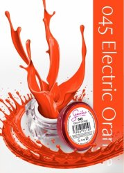 Semilac UV Gel Color 045 Electric Orange, 5ml