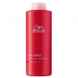 Wella Brilliance szampon do włosów farbowanych, grubych, 1000ml