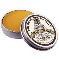 Mr Bear Family Woodland, leśny wosk do wąsów, 30ml