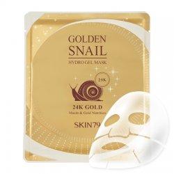 SKIN79, hydrożelowa maska ze śluzem ślimaka i 24-karatowym złotem, 25g