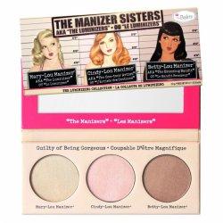 The Balm, The Manizer Sisters, paleta rozświetlaczy