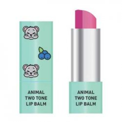 Skin79 Animal Two-Tone Lip Balm, balsam do ust w sztyfcie, Blueberry Mouse, 3,8g