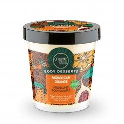 Organic Shop, modelujący suflet do ciała Pomarańcza, 450ml