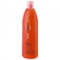 Inebrya Dry-T, szampon do włosów suchych i zniszczonych z proteinami jedwabiu, 1000ml