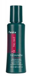 Fanola No Red, maska do brązowych włosów redukująca czerwone odcienie, 100ml