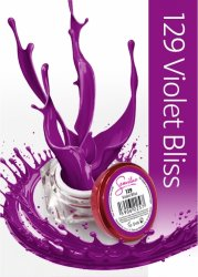 Semilac UV Gel Color 129 Violet Bliss, 5ml