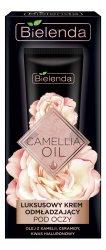 Bielenda Camellia Oil, luksusowy krem odmładzający pod oczy, 15ml