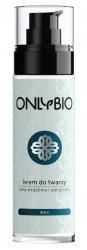 OnlyBio, krem do twarzy na noc, cera wrażliwa i alergiczna, 50ml