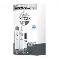 Nioxin 3D System 2, zestaw pielęgnacyjny, 150+150+50ml