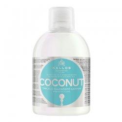 Kallos KJMN, kokosowy szampon odżywczo-wzmacniający, 1000ml