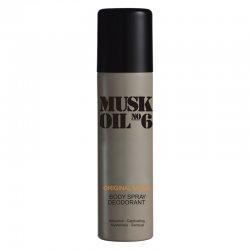 Gosh Musk Oil, dezodorant w sprayu unisex, 150ml