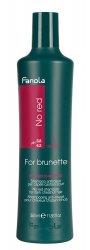 Fanola No Red, szampon do brązowych włosów redukujący czerwone odcienie, 350ml